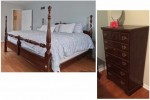 4 Poster King Bed and Dresser